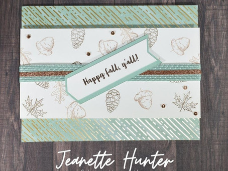 Gilded Autumn & Banner Year - Happy Fall Y'all