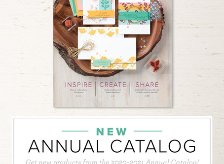 The New Annual Catalog Has Been Released!!!