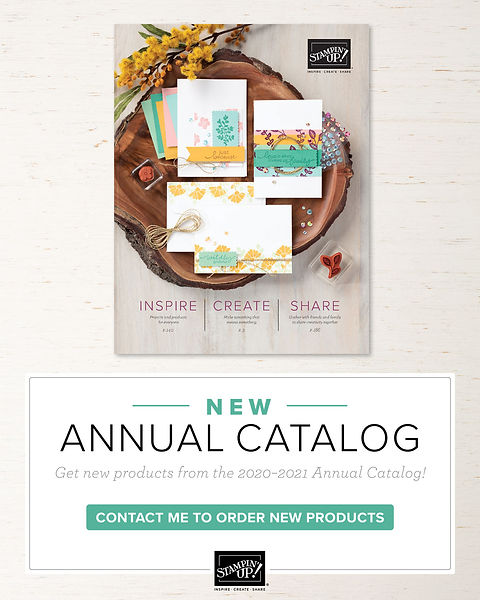 Image of 2020 - 2021 Stampin' Up! Annual Catalog