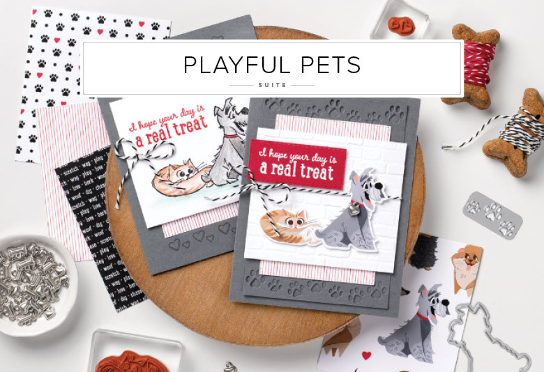 Playful Pets Stampin' Up! Product Suite Image