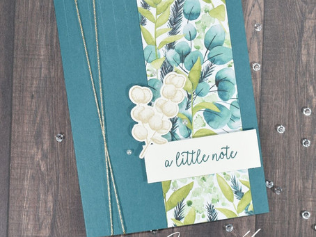 A Little Note with Forever Greenery Suite