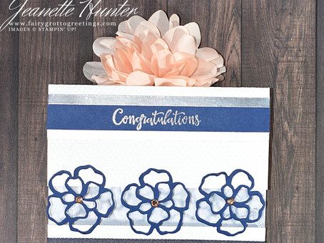 Congratulations with Wild Rose