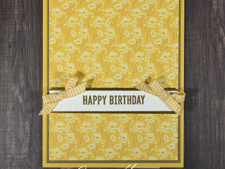 Super Simple Birthday Card - Complete in Just 5 Minutes!