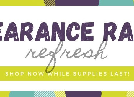 Check Out the Clearance Rack for Great Deals!