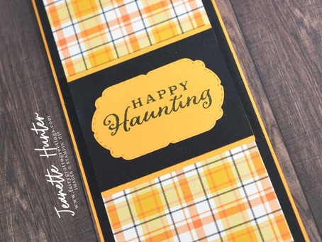 Plaid Tidings Suite - Happy Haunting!