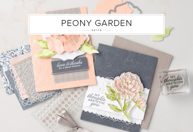 Peony Garden Stampin' Up! Product Suite Image