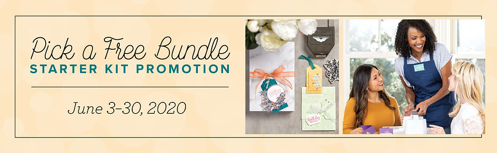 Pick a Free Bundle Starter Kit Promotion from June 3 to June 30, 2020