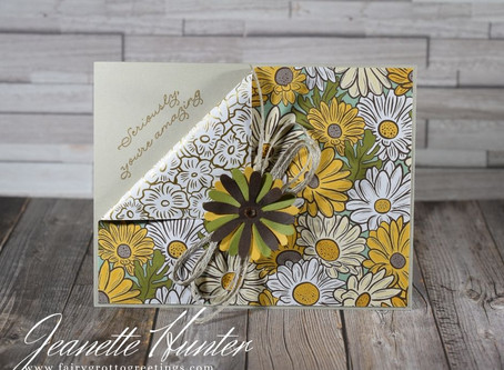 """Ornate Thanks """"Seriously, you're amazing"""" Handmade Card"""