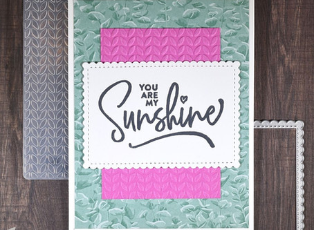 You Are My Sunshine - Super Simple Encouragement Card