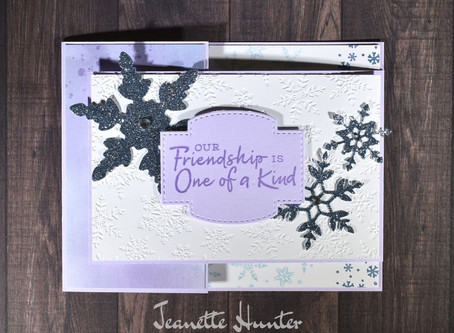 Our Friendship is One of a Kind - Snowflake Splendor