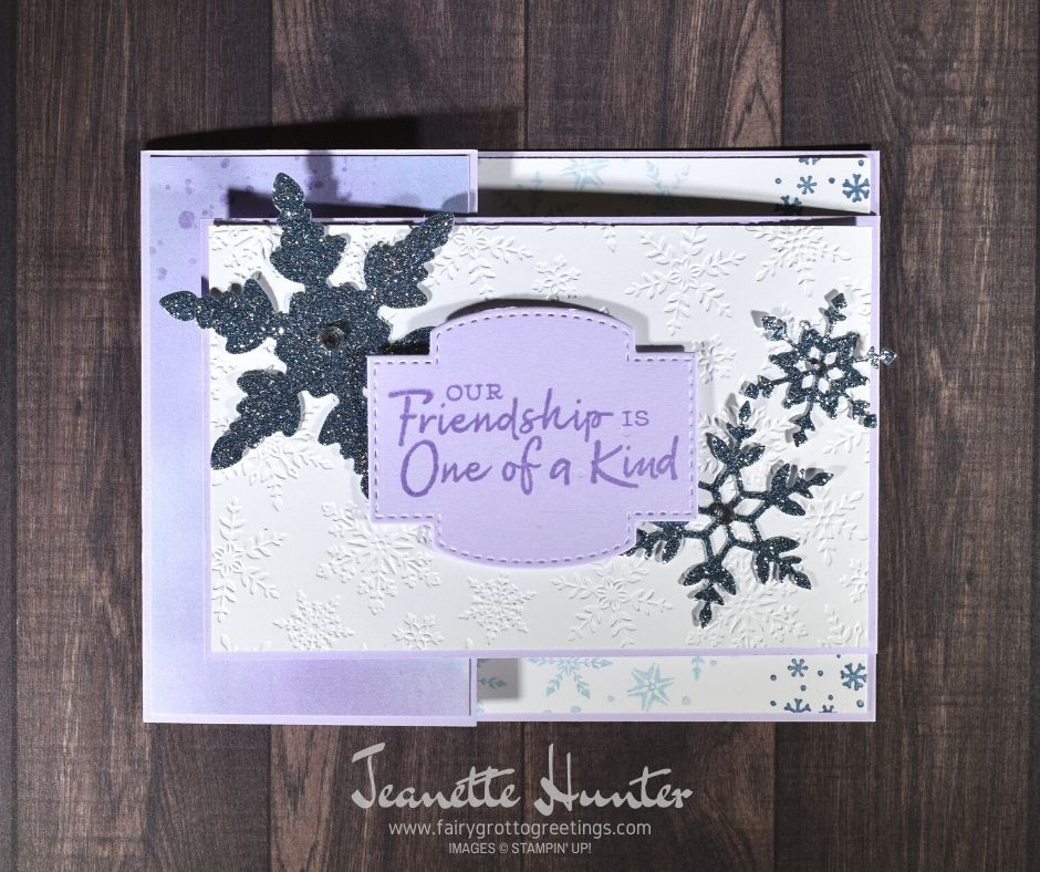 Image of front of handmade card