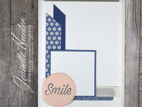 "Daisy Lane's ""Smile"" - Using Up Some Scraps!"