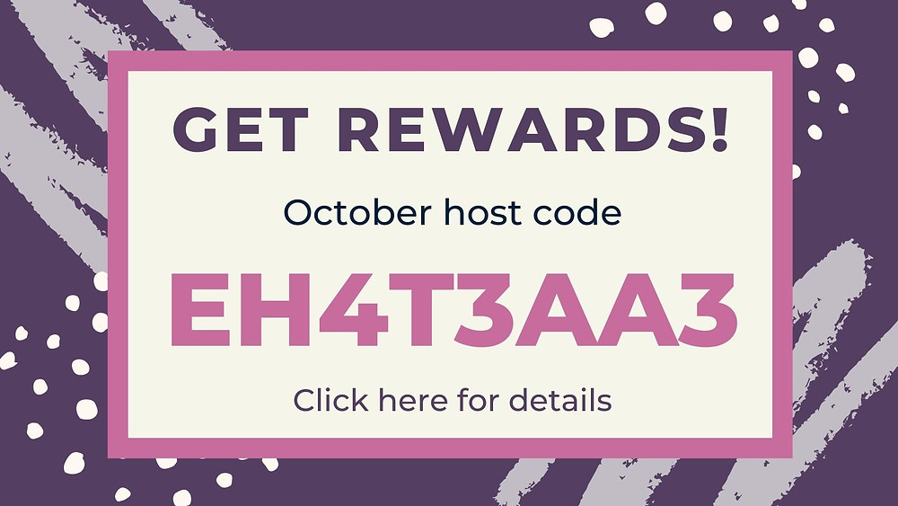 Image with link to further details regarding the host code and rewards program.