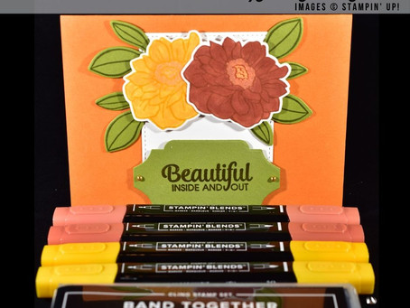 Band Together Inspiration Card using Stampin' Up! Products