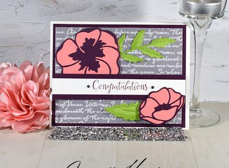 Peaceful Moments Bundle Handmade Congratulations Card
