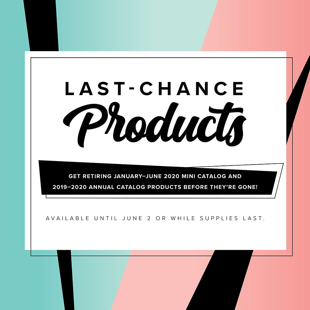 Stampin' Up! 2019-2020 Annual & Mini Catalog Last Chance Products image