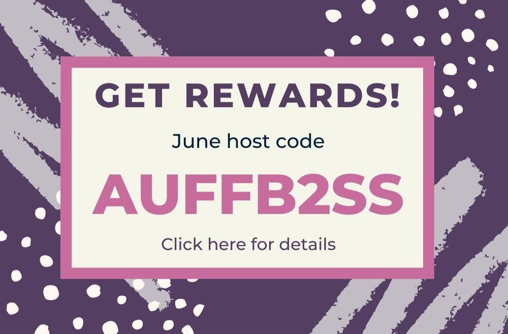 June 2020 Host Code with Fairy Grotto Greetings