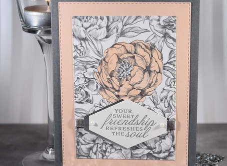 Peony Garden 'Your Sweet Friendship' Card