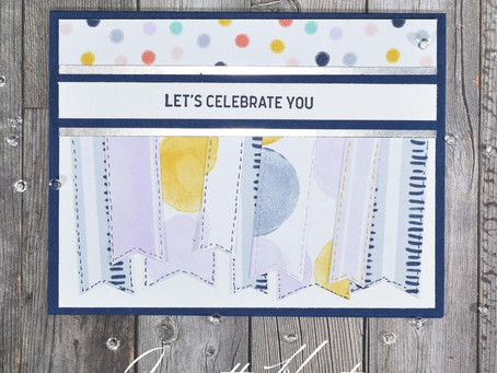 "Playing with Patterns Use Your Scraps ""Let's Celebrate You"""