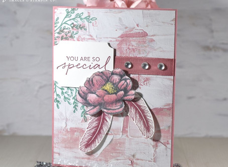Encouragement with the Tasteful Touches Bundle from Stampin' Up!