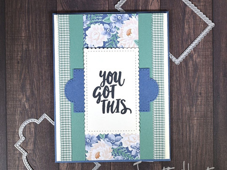 Simple Encouragement Card - Flowers for Every Season