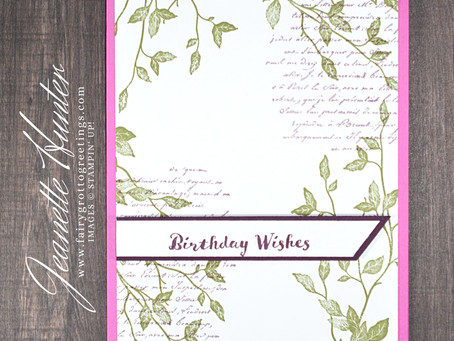 Birthday Wishes - Itty Bitty Birthdays & Very Versailles