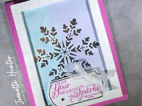 Snowflake Splendor - May Your Season Sparkle
