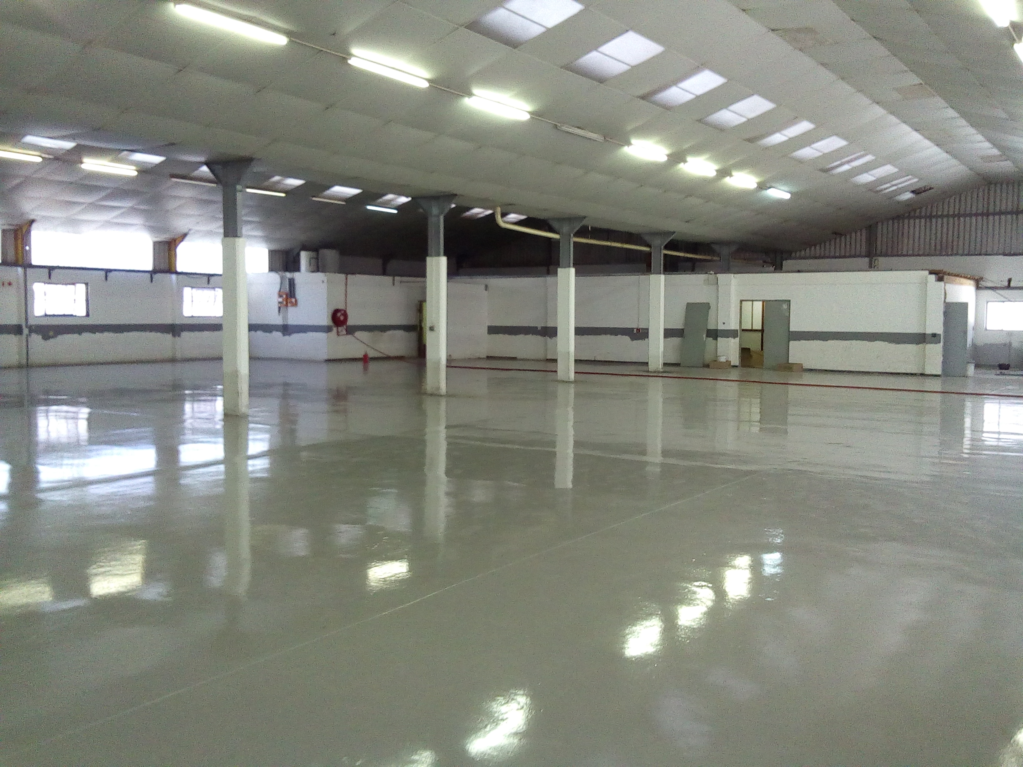 Painting Factory Floors