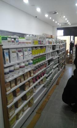 Shopfitting - shelving