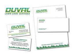 duval lawn care graphics