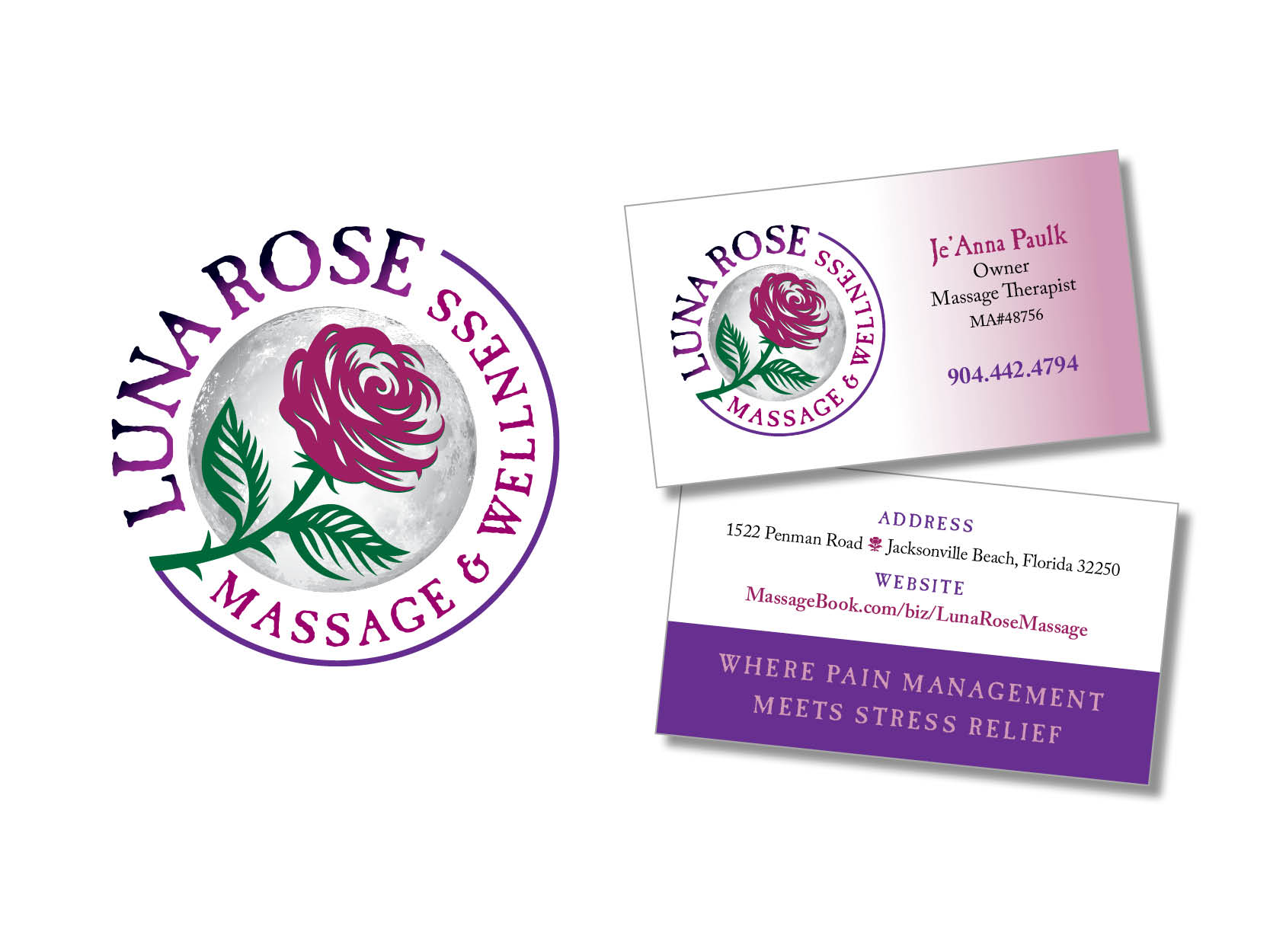luna rose massage graphics