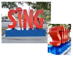 """""""Sing"""" Public Art Installation"""