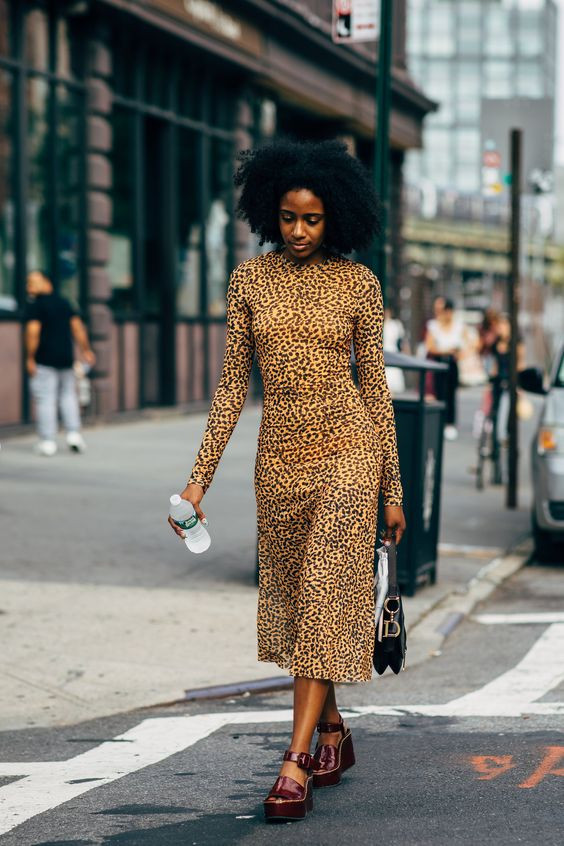 THE TRENDY LEOPARD