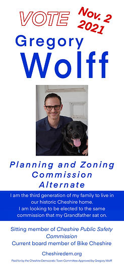 Gregory Wolff Planning and Zoning