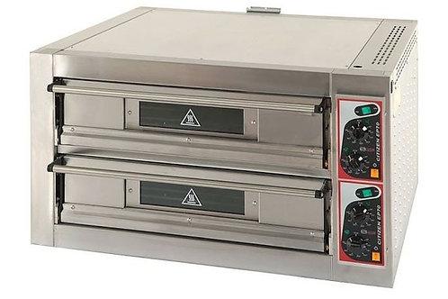 Horno bicámara pizzas eléctrico 4+4
