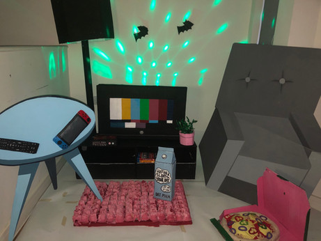 The Living Room: Night Mode