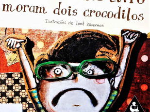 Dentro deste livro moram dois crocodilos