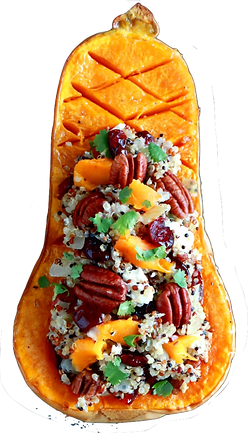 Cranberry-Quinoa-Stuffed-Butternut-Squas