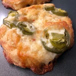 Jalapeno Cheese Bagels