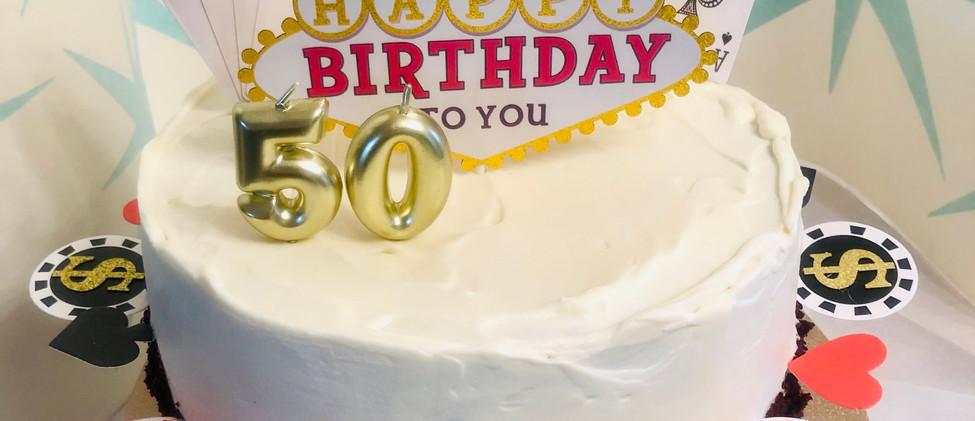 Jackpot Theme Cake