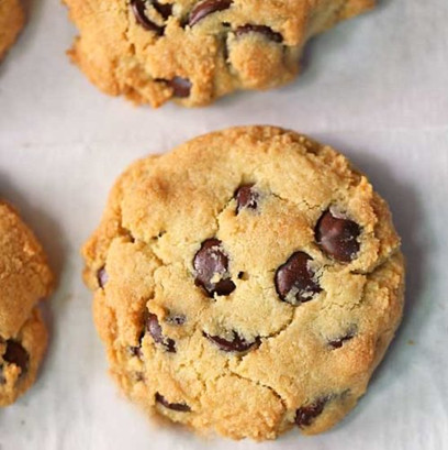 Fresh Baked Keto Chocolate Chip Cookies