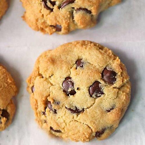 6 Keto Chocolate Chip Cookies