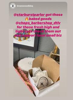 Thank you @BraeswoodBbq! & @ChopsBarbershop !