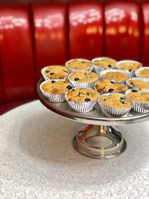 Fresh Moist Blueberry Muffins