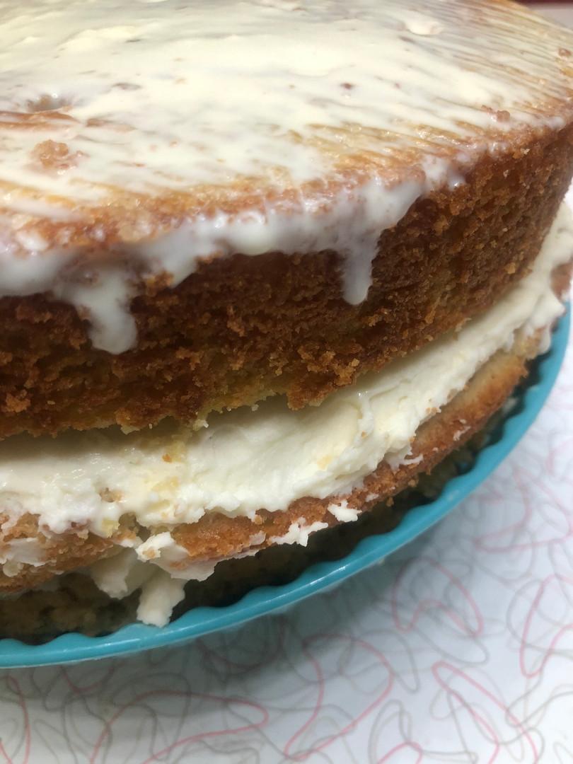 Sneak Peak Inside this Keto Tres Leches Vanilla Cake