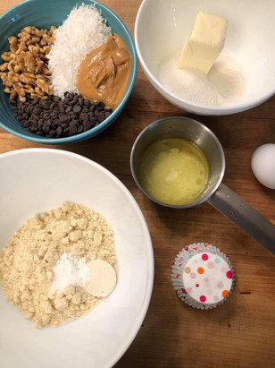 Behind the scenes Keto baking