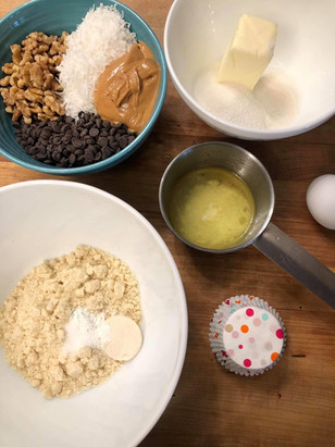 Behind the scenes Keto baking