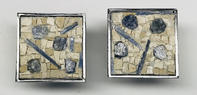 Sapphire and Kyanite Cabinet Knobs