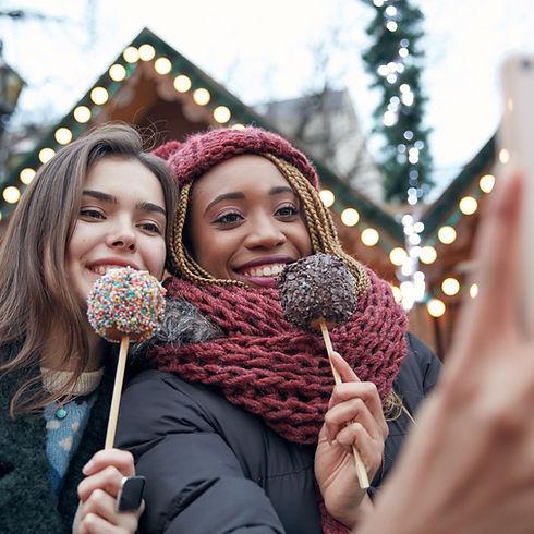 Selfie with Lollipops