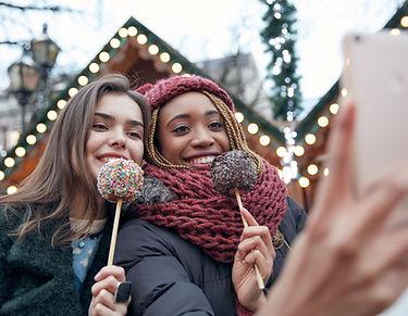 Selfie mit Lollipops